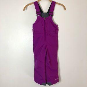 Colombia Purple Girls Snow pants